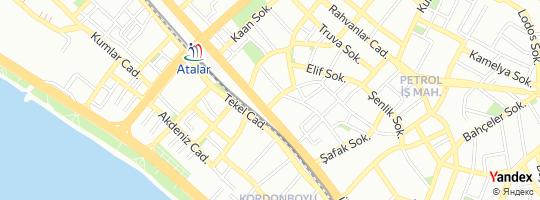 Direction for - Özel Veni Vidi Göz Sağlığı Merkezi Atalar Şubesi - Kartal Göz Sağlık Hizmetleri San. Ve Tic.Ltd.Şti. Kartal,İstanbul,Turkey