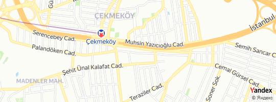 Direction for - Projenet - Projenet Yazılım A.Ş. Sancaktepe,İstanbul,Turkey