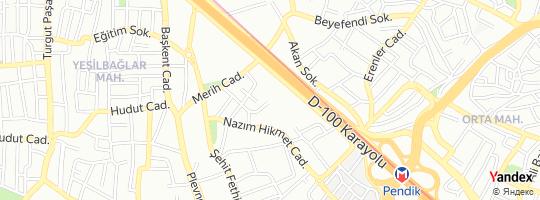 Direction for - Süllü Demir - Süllü Demir San. Ve Tic.A.Ş. Pendik,İstanbul,Turkey