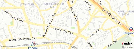 Direction for - Vural Yumurta (Şeref Vural) Pendik,İstanbul,Turkey