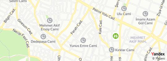 Direction for - Ak Parti Ykm - Adalet Ve Kalkınma Partisi - Yaşlılar Koordinasyon Merkezi (Nail Alver) Sultanbeyli,İstanbul,Turkey
