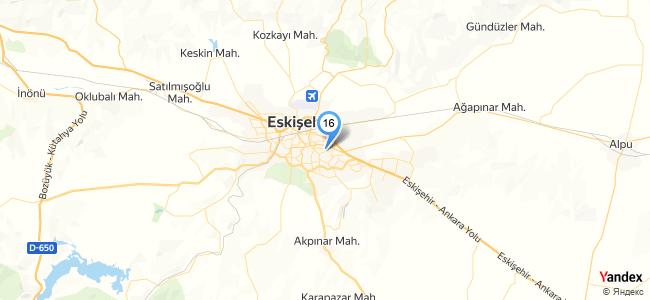 The Vine Organizasyon / Eskişehir - konum