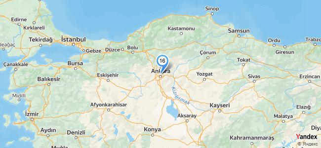 Özbek Sofrası - konum