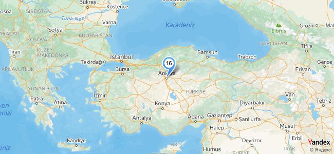 Çeft Cafe Restaurant Düğün Salonu (Ankara / Keçiören) - konum