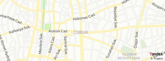 Direction for - Özgün Emlak (Hakan Cem Neşeli) çubuk,Ankara,Turkey