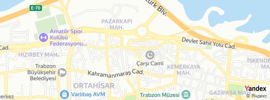 Direction for - Birma Ticaret (Hamdi Maraba) Ortahisar,Trabzon,Turkey