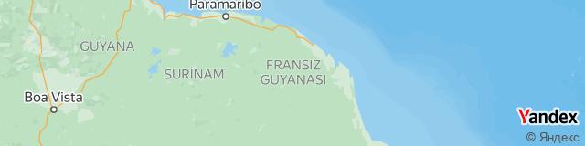 Fransız Guyanası Ülke Kodu - Fransız Guyanası Telefon Kodu