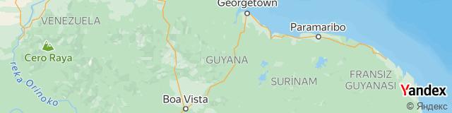 Guyana Ülke Kodu - Guyana Telefon Kodu