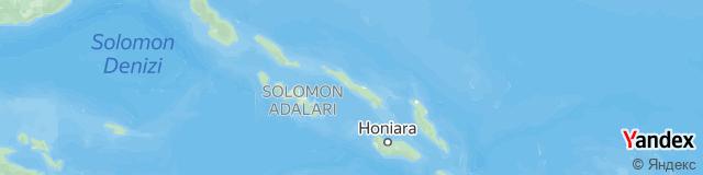 Solomon Adaları Ülke Kodu - Solomon Adaları Telefon Kodu
