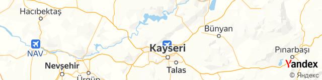 Kayseri, Erkilet Posta Kodu