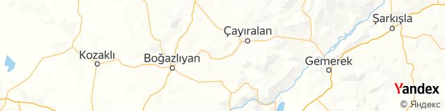 Yozgat, Çandır Posta Kodu