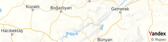Kayseri, Felahiye Posta Kodu