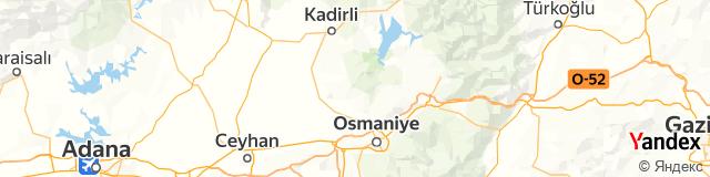 Osmaniye Posta Kodu