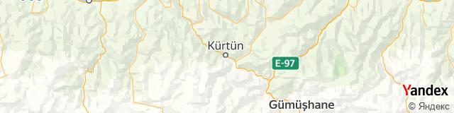 Gümüşhane, Kürtün Posta Kodu