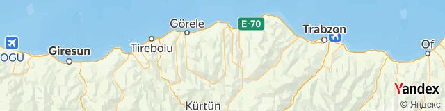 Trabzon, Şalpazarı Posta Kodu