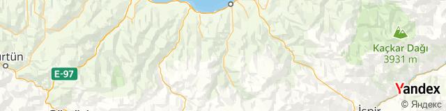 Trabzon, Çaykara Posta Kodu