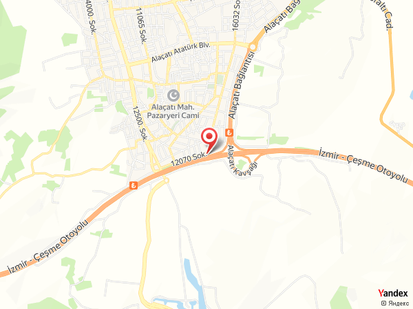 Alaçatı Port Kapari Otel Yol Haritası