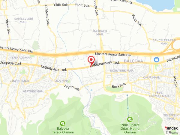 Balçova Plaza Otel Yol Haritası