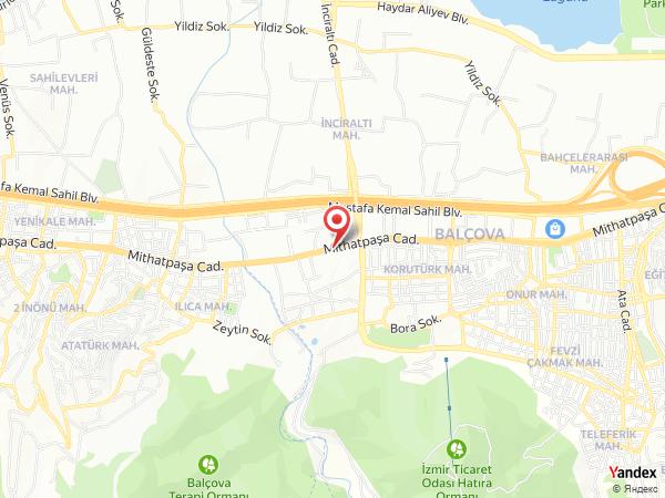 Balçova Termal Otel Yol Haritası