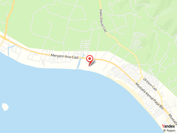 Denizatı Holiday Village Yol Haritası
