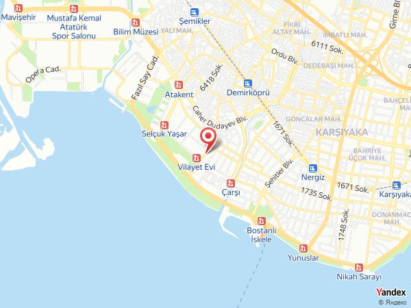Fatih & Özlem Kuaför Güzellik Salonu Yol Haritası