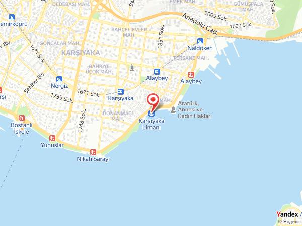 Keyff İskele Restaurant Yol Haritası