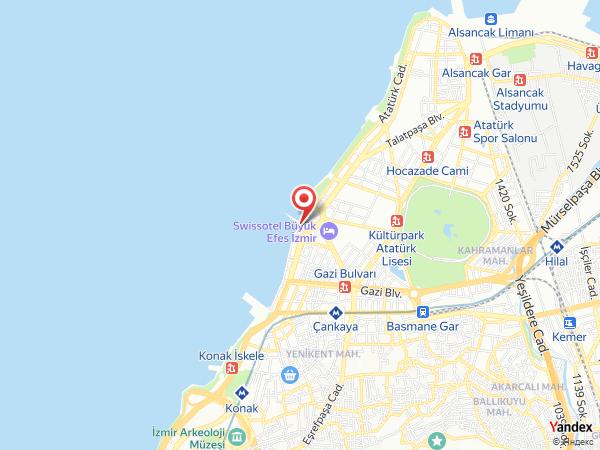 Sakız Alsancak Restoran & Cafe Yol Haritası