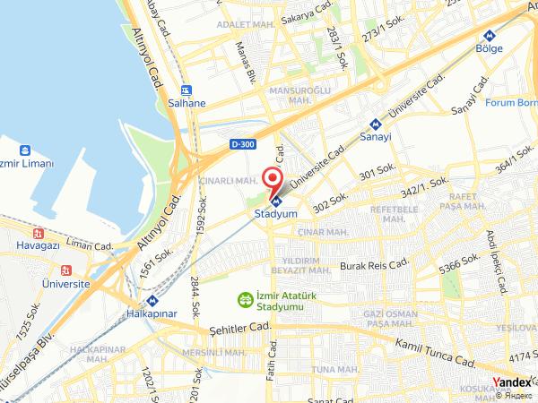 Bordo Yeşil Garden Alsancak Yol Haritası