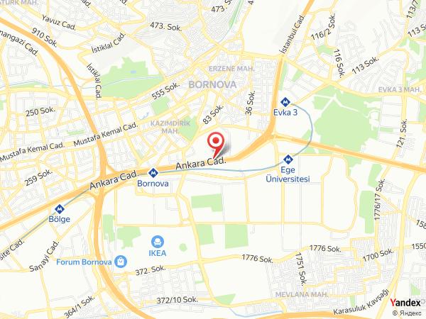 İsabet Steak House / Bayraklı Yol Haritası