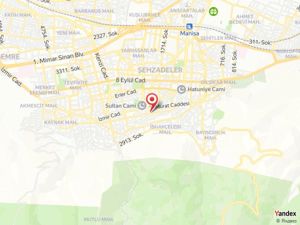 Sarıgöl Belediyesi Düğün Salonu Yol Haritası