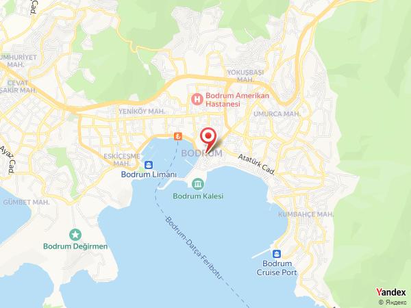 Kempinski Hotel Barbaros Bay Yol Haritası