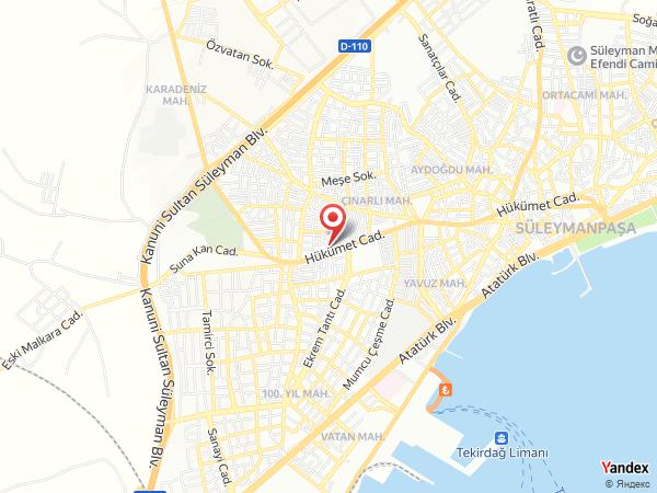 Erdoğan Orhan Kongre Merkezi Yol Haritası