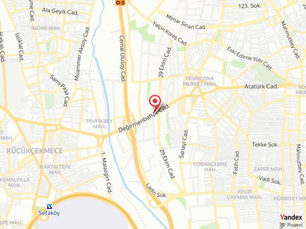 İstanbul Gönen Hotel Yol Haritası