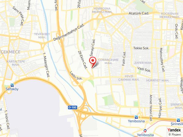 Gorrion Hotel İstanbul Yol Haritası