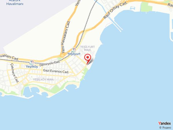 Teras Restaurant Yeşilyurt Spor Kulübü Yol Haritası
