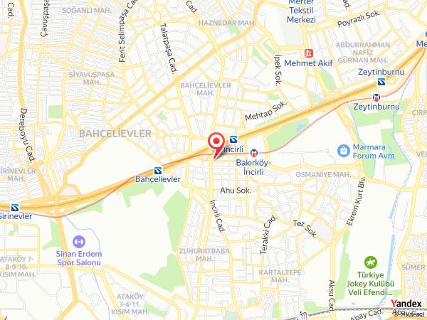 Özel Estethica Bakırköy Cerrahi Tıp Merkezi Yol Haritası