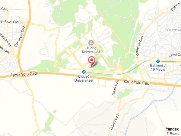Holiday Inn Bursa Yol Haritası