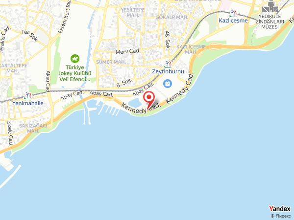 Novotel Zeytinburnu Yol Haritası