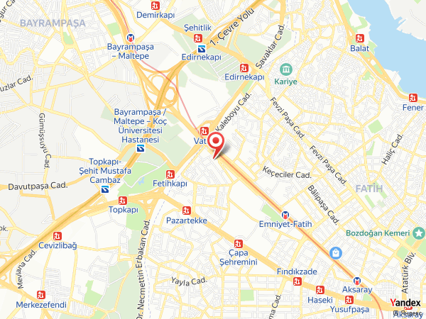 Akgün İstanbul Hotel Yol Haritası