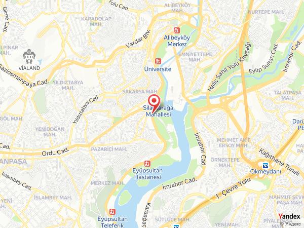 Grand Haliç Restaurant Yol Haritası