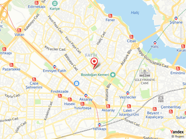 Saray Muhallebicisi Fatih Yol Haritası