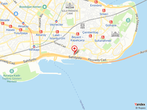 Kumkapı Afrodit Restaurant Yol Haritası