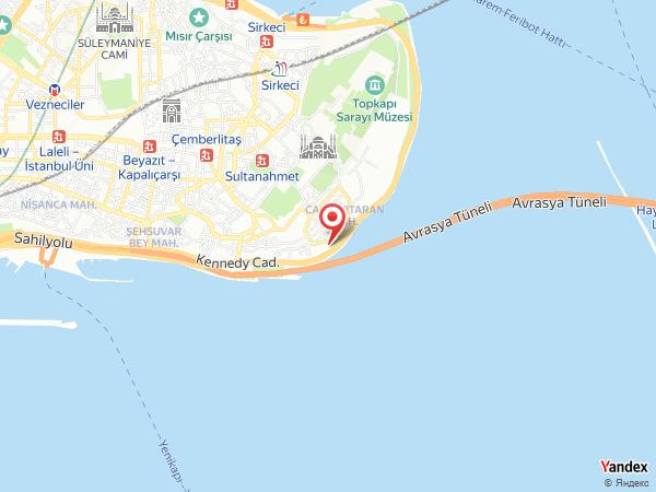 Reji by Kalyon Hotel Yol Haritası