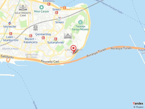 Armada Otel İstanbul Yol Haritası