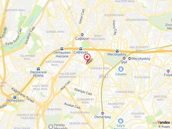 Grand Cevahir Hotel Yol Haritası