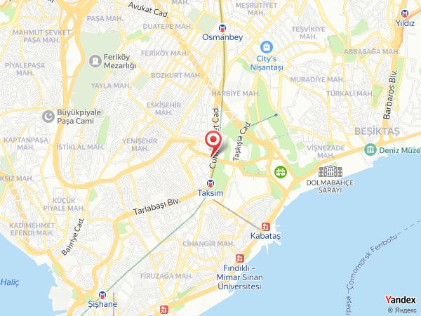Point Hotel Taksim Yol Haritası