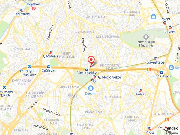 Mehmet Tatlı Mecidiyeköy Yol Haritası