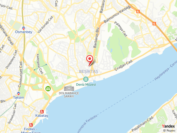 Shangri-La Bosphorus Yol Haritası