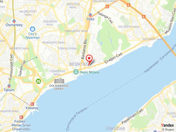 Teras 212 Beşiktaş Yol Haritası