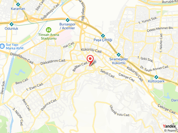 Tiara Termal Hotel Yol Haritası
